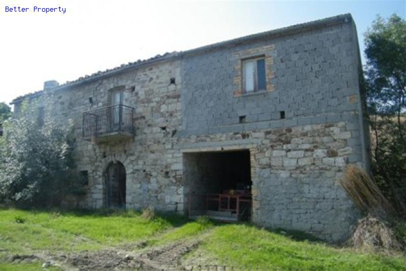 Properties For Sale In Abruzzo Stone Cottage With Land For
